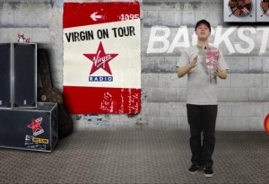 virgin on tour
